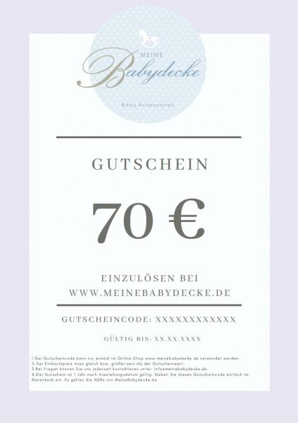 Gutschein 70€