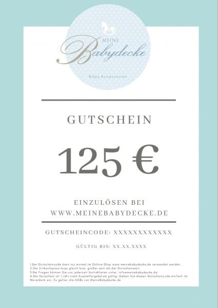 Gutschein 125 €